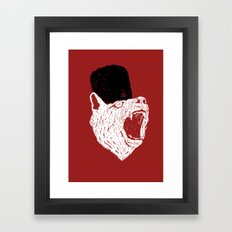 Russian Bear Framed Art Print