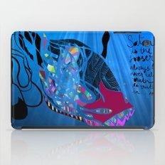 John 8/44+TheFish Nonrandom-art2 iPad Case