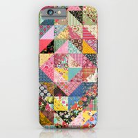 iPhone & iPod Case featuring Grandma's Quilt by Rachel Caldwell