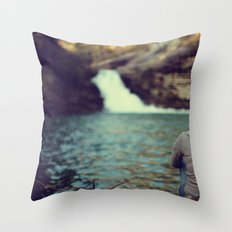 Lula Lake Contemplation Throw Pillow
