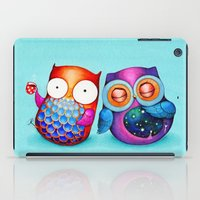 Night and Day Owls iPad Case