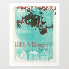 To Kill A Mockingbird Art Print