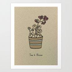 Time to Blossom Art Print