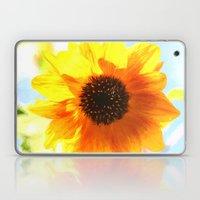 single sunflower Laptop & iPad Skin