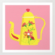 Tea Pot Art Print