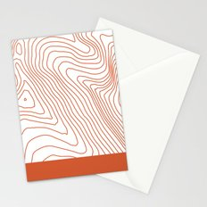Contours I Stationery Cards