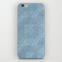 A Calming Blue iPhone & iPod Skin