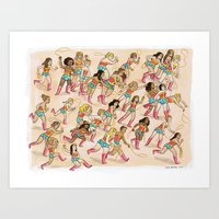 Wonder Women! Art Print