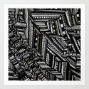 City Lights I Art Print