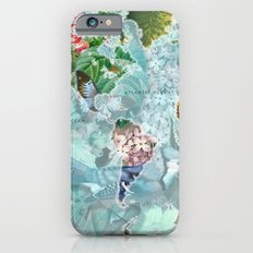 World Map of Flowers iPhone 6 Slim Case