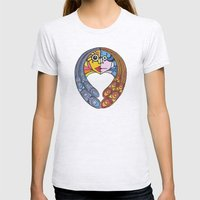 Atomos, The Indivisible Womens Fitted Tee Ash Grey SMALL