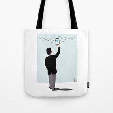Serial Twitter Tote Bag