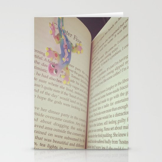 Book Stationery Card