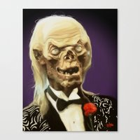 Crypt Keeper Canvas Print