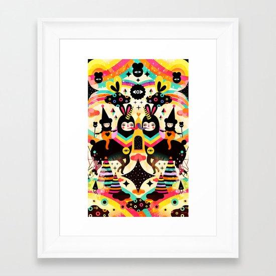 Flying High Framed Art Print