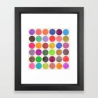 colorplay 15 Framed Art Print