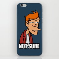 Fry is not sure iPhone & iPod Skin