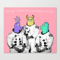 Never The Same Canvas Print