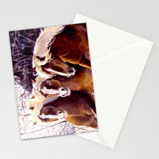 Three Beauties Stationery Cards