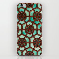 Turquoise orient iPhone & iPod Skin