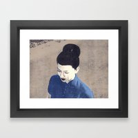 The Wind Cannot Read Framed Art Print
