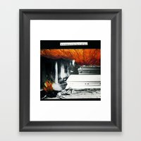 Total Post Mortum Immolation (funeral metal 3) Framed Art Print
