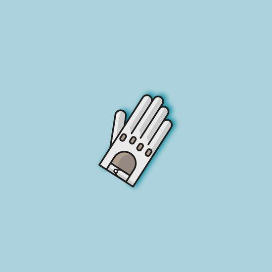 Fancy Glove Icon  Art Print