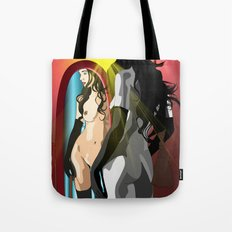 The Mirror's Truth Tote Bag