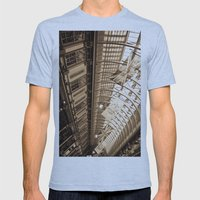 Leadenhall Market London Mens Fitted Tee Athletic Blue SMALL