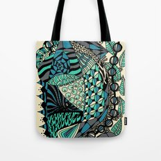 The wind that rocks the leaves Tote Bag