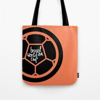 Brazil World Cup 2014 - … Tote Bag