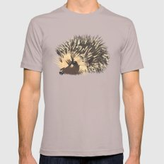 Little Hedgehog Mens Fitted Tee Cinder SMALL