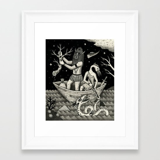 The Acquisition Framed Art Print