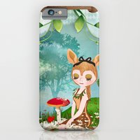 iPhone & iPod Case featuring The shadoe's World by Crea Bisontine
