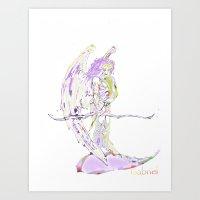 Gabriel Art Print