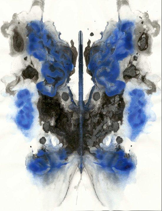 Blue Knight Art Print
