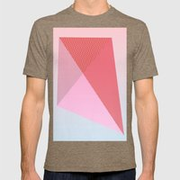 My Kite Mens Fitted Tee Tri-Coffee SMALL