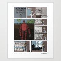 Hydrabots Art Print
