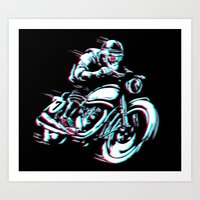 HIPSTER HOT RIDE Art Print