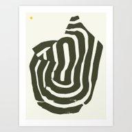 Burnt Mountain — Matth… Art Print