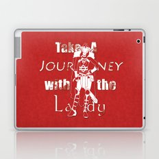 Take A Journey With The Lady Laptop & iPad Skin