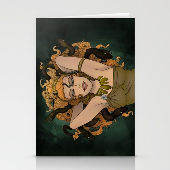 Medusa Stationery Card