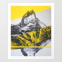 brocken mountain Art Print