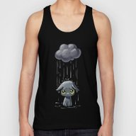 Pouring Unisex Tank Top
