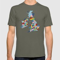 UK Mens Fitted Tee Lieutenant SMALL