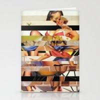 Glitch Pin-Up Redux: Gwen Stationery Cards