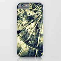 iPhone & iPod Case featuring tailing wheels I by Krista Glavich
