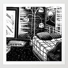 Sunny Vancouver (Combination Cut) Art Print