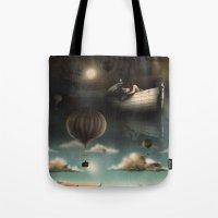 Above, Below, & Beyond Tote Bag