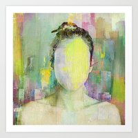 A Person Among Others Art Print